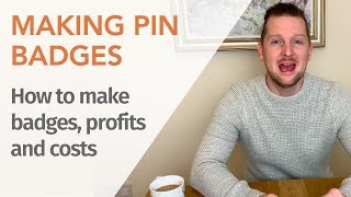 Making Pin Buttons (buttons) | Pin Button Maker - Selling on Etsy