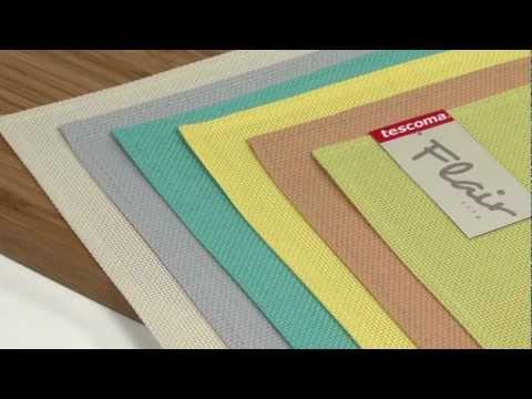 Video TESCOMA prostírání FLAIR LITE 45x32 cm, lososová 2