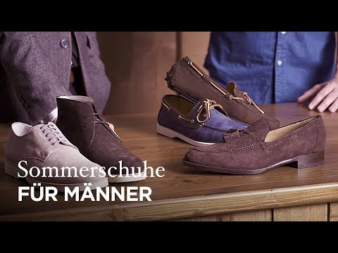 Vorgestellt: Die besten Schuhe für den Mann im Sommer