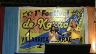 preview picture of video '1° FESTIVAL DE KARAOKE VILLARRICA - PARAGUAY (2)'