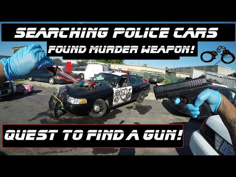 Searching Police Cars Found Murder Weapon!