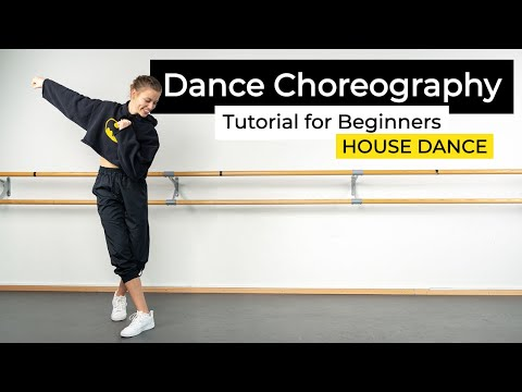 HOUSE DANCE Choreography Tutorial for Beginners - Free Dance Class at Home