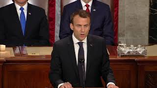 FULL SPEECH: French President Macron Address Joint Session of Congress