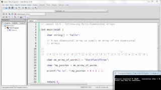 Download Youtube: Introducing Multi-Dimensional Arrays in C