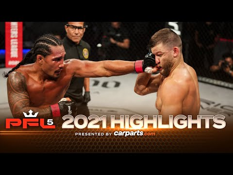 PFL 5 - 2021:  MacDonald vs. Tibau – Highlights
