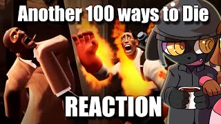 [SFM] Another 100 Ways To Die In Team Fortress 2 | REACTION | By Penguinsfishing