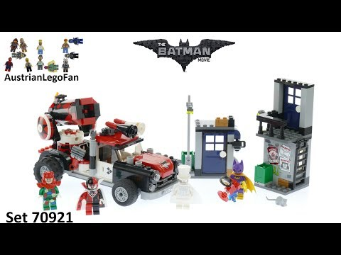 Vidéo LEGO The Batman Movie 70921 : L'attaque boulet de canon d'Harley Quinn