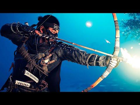 Ghost of Tsushima — Русский трейлер игры (Субтитры, 2020)