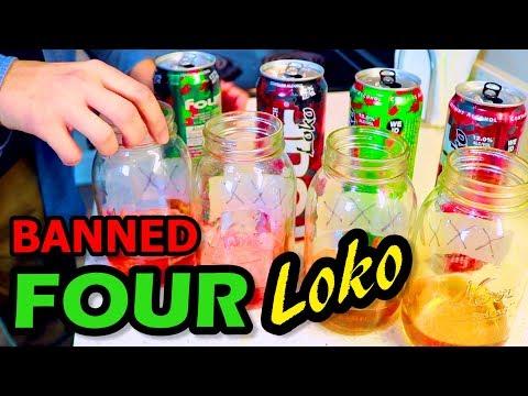 Original BANNED Four Loko 2010 VS. New Four Loko 2017 Review