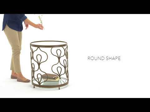 Fraloni T086-6 Round End Table