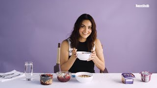 Women's Health   Camila Mendes Taste Tests Acai Bowls