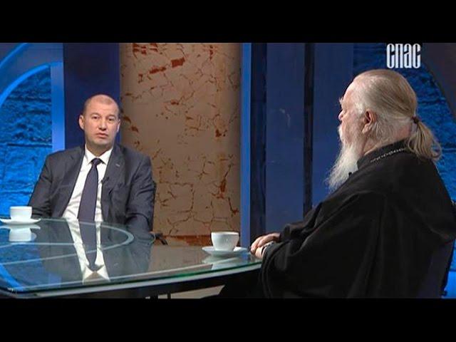 Диалог под часами с руководителем фонда Сергия Радонежского Сергеем Безделовым