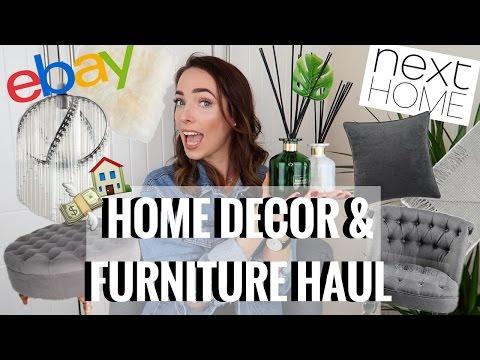 HUGE HOME DECOR & FURNITURE HAUL   EBAY, IKEA, NEXT HOME   CIARA O DOHERTY