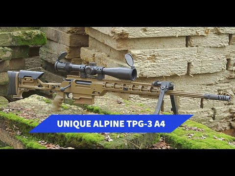 Unique Alpine: Test e video: Unique Alpine TPG-3 A4 carabina modulare multicalibro