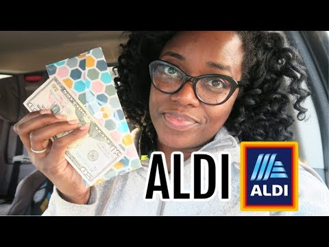 I went into ALDI with $50 and came out with ALL OF THIS! Aldi grocery haul and SHOP WITH ME!