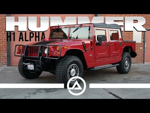 2006 Hummer H1 Alpha | Best Vehicle for the Zombie Apocalypse?
