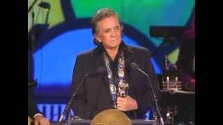 Lyle Lovett Inducts Johnny Cash into the Rock and Roll Hall of Fame