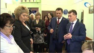Максиму Топилину рассказали о переходе медучреждений региона на электронные больничные листы