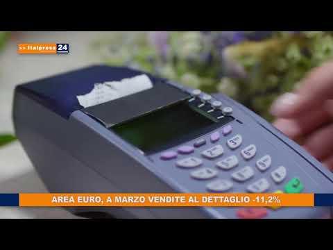 AREA EURO A MARZO VENDITE AL DETTAGLIO 11.2%