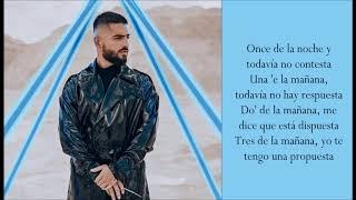 11 PM   Maluma   (Lyrics)