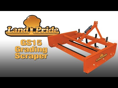 2018 Land Pride GS1572 Grading Scraper in Warren, Arkansas