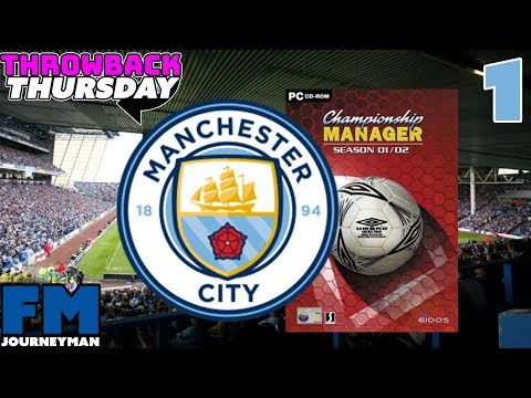 Manchester City Championship Manager 01/02 Series - Intro And Signing Legends - Throwback Thursday Mp3