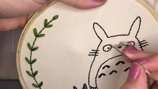 How To Embroider Brick Stitch