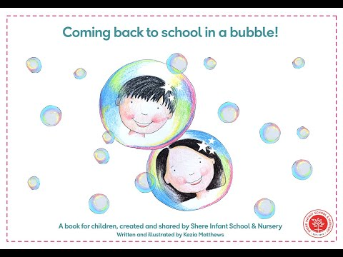Screenshot of video: Coming back to School in a bubble
