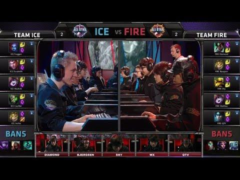Team ICE vs Team FIRE | All-Star Challenge URF mode | All-star Paris 2014 Day 1