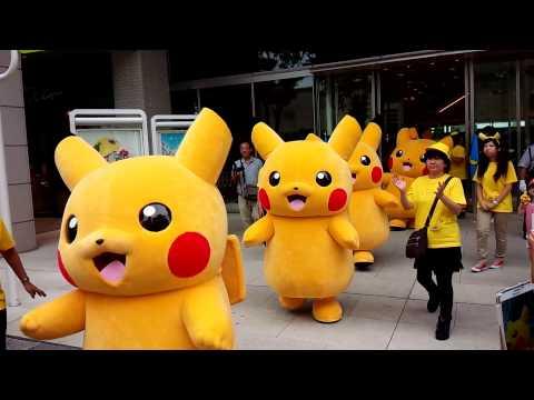 Cuộc hành quân của 1000 con Pikachu. Cách thánh cuồng Pikachu đâu rồi