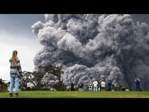 GSM Update 5/18/18 - Kilauea Erupts to 30,000ft - Unusual Late Spring Snow - Baseball Size Hail