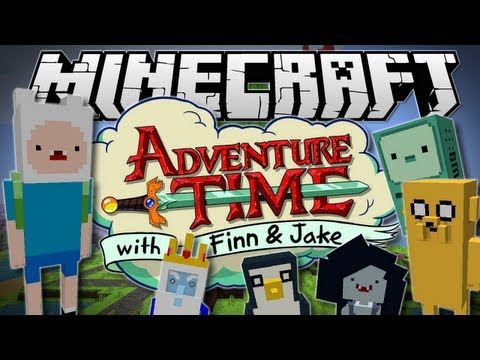 Minecraft | ADVENTURE TIME! (The Land of Ooo!) | Mod Showcase [1.6.2]