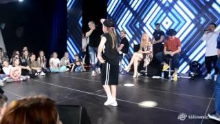 Танцевальный батл на Битве талантов (1x1) — Тоня Володина vs. Руслан Громов