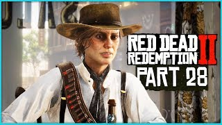 Red Dead Redemption 2 Walkthrough Part 28 - BEECHERS HOPE   PS4 Pro Gameplay