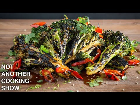 how to make PERFECTLY GRILLED BROCCOLI