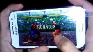 Chơi game võ đài thú trên điện thoại Android