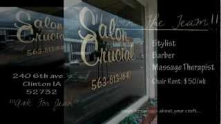 SALON CRUCIAL..NOW HIRING....