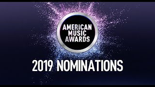 Here is a special look at some of the 2019 American Music Awards nominees! - AMAs 2019