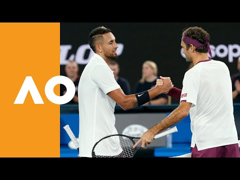 Roger Federer and Nick Kyrgios raise $35,000 for Bushfire Relief | Australian Open 2020