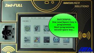 Renault Megane 3 - Scenic 3 - Fluence - Latitude  (2010-2012)  Key Programming Via OBD