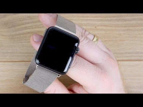Elegant und Edel! Apple Watch Drittanbieter Milanaise Armband von VIKATech TEST Fazit // DEUTSCH