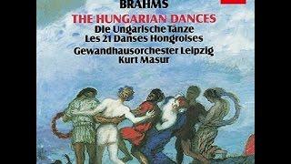 **♪Brahms : Hungarian Dances / Kurt Masur & Leipzig Gewandhaus Orchestra 1981