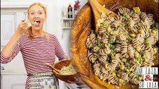 Klassiker neu interpretiert * schnell vegan Mayonnaise Rezept * gesunder Nudelsalat