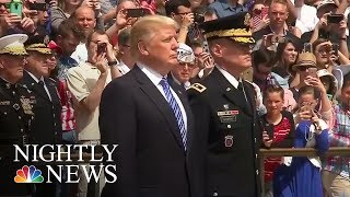 Pres. Donald Trump's First Memorial Day Marked By Jared Kushner Controversy | NBC Nightly News