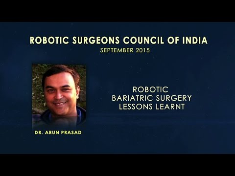 Robotic Bariatric Surgery-Lessons Learnt