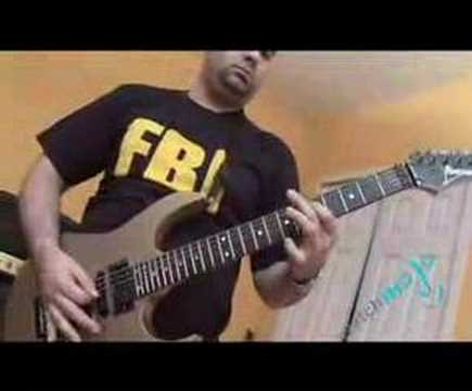 Guitarist plays Holy Wars by Megadeth