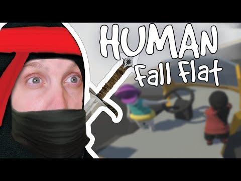 Human Fall Flat Igrica -  VOZIMO KAMION! (Ninja Cera) W/iggy Plejer
