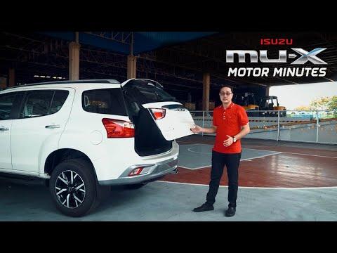 Motor Minutes: New Isuzu mu-X 4x4 LS-A 3.0L