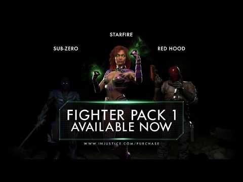 Injustice 2: Starfire DLC release, Mobile Watchtower news