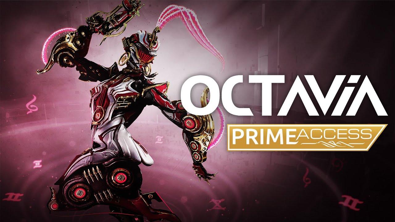 Octavia Prime e' disponibile su tutte le piattaforme di Warframe